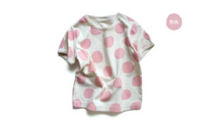 Organic Cotton Round Dots Printing Baby Cloth Set pictures & photos