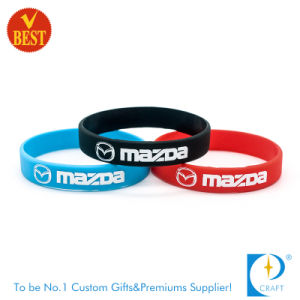 Wholesale Custom Silicone Sport Wrist Band for Athletes pictures & photos