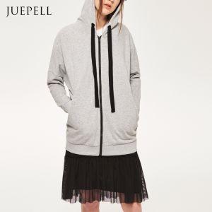 Long Sweatshirt with Zip pictures & photos