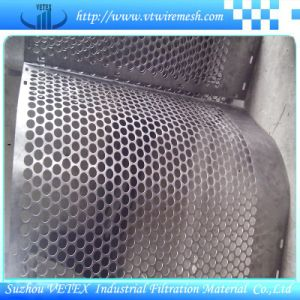 Stainless Steel or Low Carbon Steel Round Hole Mesh pictures & photos