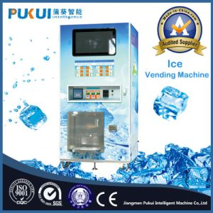 China Supplier Outdoor Self-Service Ice Cube Vending Machine pictures & photos