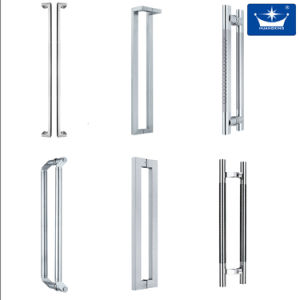 Stainless Steel Handle/Glass Hinge Shower Door Handle pictures & photos