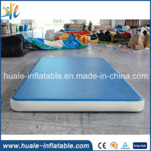 Dwf Drop Stich Material 4*2 M Inflatable Gym Air Track Tumble Mat for Sale