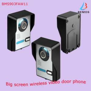 """9"""" Color Wireless Video Doorphone with Pictures Record & Motion Detecting pictures & photos"""