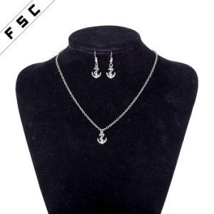 Factory Wholesale Zinc Alloy Anchor Unisex Jewelry Sets pictures & photos