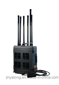 6 Channels 300W Drone Jammer for Uav up to 1500m in Pelican Suitcase pictures & photos