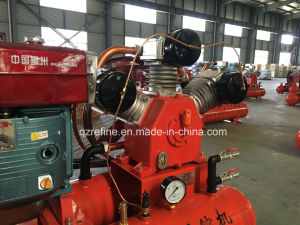 Kaishan W-3/5 22HP Movable Mining Air Compressor for Jack Hammer Driving pictures & photos