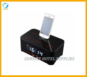 Hotel Alarm Clock Docking Station with Charging Function pictures & photos