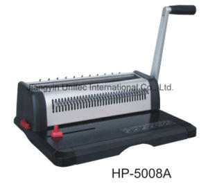 Wholesale A4 Size Paper Wire Book Binding Machine for Office HP-5008A pictures & photos
