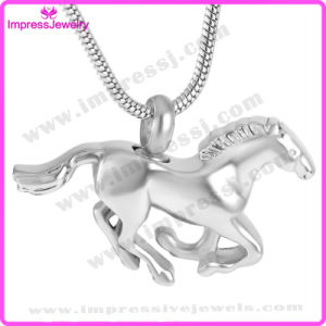 Running Horse Cremation Pendant Necklace for Ashes Keepsake (IJD8669) pictures & photos