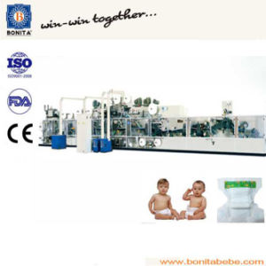 High Speed Semi-Servo Baby Diaper Machine Manufacture in China (BNT-BD-10)