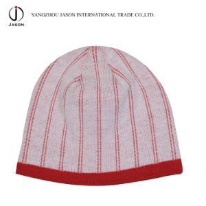 Winter Jacquard Hat Winter Warm Hat Acrylic Jacquard Knitted Beanie Jacquard Knitted Toque Hat pictures & photos