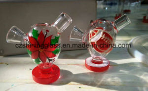 Colorful OEM Service Water-Drop Martian Glass Bubbler for Smoking pictures & photos