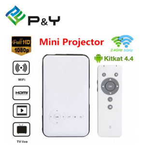 DLP LED Android Projector M6 with WiFi/Bluetooth for Pocket Size pictures & photos