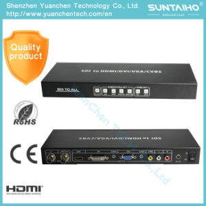 Sdi to All Scaler Converter for Sdi to HDMI AV VGA DVI pictures & photos