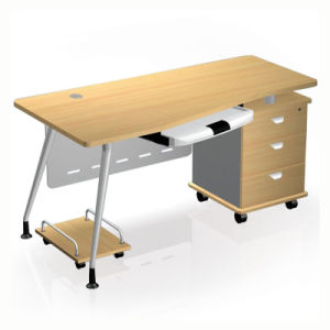 Modern MFC Laminated MDF Wooden Office Table (NS-NW257) pictures & photos