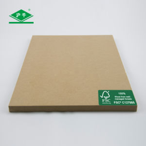 Fsc Plain MDF 1220mmx2440mmx12mm E1 pictures & photos