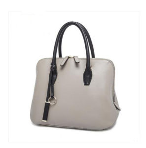 2017 New Special Shape Contrast Color Hand Bag High Quality Ladies Bag Hcy-5021 pictures & photos