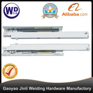 SL-2101 Furniture Heavy Duty Ball Bearing Concealed Soft Close Drawer Slide pictures & photos