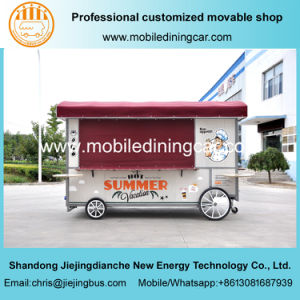 Jiejing Made Mobile Food Truck Fast Food Trailer with Catering Equipment pictures & photos