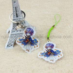 UV Printing Acrylic Cartoon Character Keychain, Acrylic Key Chain pictures & photos