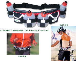 Hydration Bottle Belts for Runners (BSP11656) pictures & photos