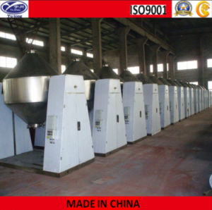 Zinc Acetate Double Tapered Vacuum Drying Machine pictures & photos