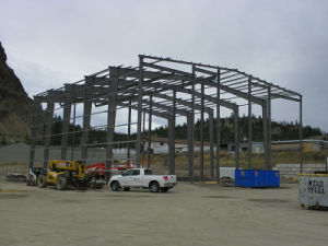 Prefab Steel Factory and Commercial Building Structures pictures & photos