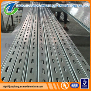 Factory Price Electro Galvanized Slotted Channel pictures & photos
