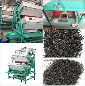 Hons+ Fully Automatic Camera Tea Color Sorter Machine for Grains and Spice Color Sorting pictures & photos