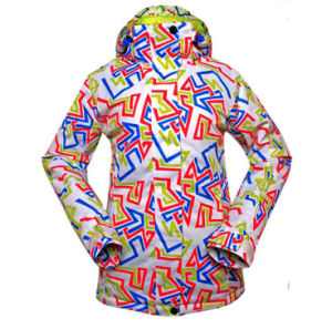 Snowboard Ski Jacket Women′s Ski Clothes pictures & photos