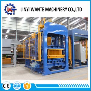 Hot Sell Hydraulic Automatic Qt6-15 Hollow Block/Concrete Block Machine pictures & photos