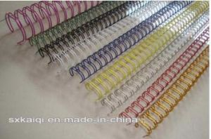 Double Loop Book Binding Wire for Stationery Box pictures & photos