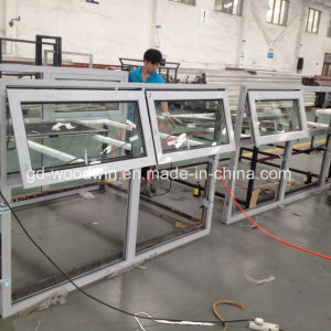 China Manufacturer Aluminum Double Glazing Top Hung/Awning Windows pictures & photos