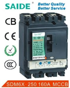 Good Quality 3p MCCB Moulded Case Circuit Breaker pictures & photos