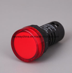 22mm LED Pilot Light/Indicator Lamp with 5 Years′ Warranty (AD26 series) pictures & photos