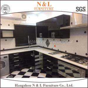 Modern Simple Lacquer Kitchen Cabinets Customized Kitchen Designs pictures & photos