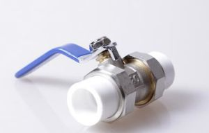 3/4′′ PPR Brass Ball Valve with Ce and NF pictures & photos