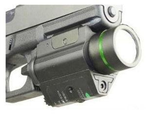 CREE Flashlight + Green Laser Sight Tactical Weaver Rail for Pistol/Glock pictures & photos
