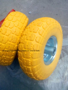 High Quality PU Foam Wheel 4.10/3.50-4 for Transport Vehicle