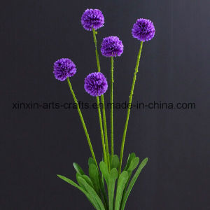 Cheap Ball Chrysanthemum Artificial Flowers Fake Flowers pictures & photos