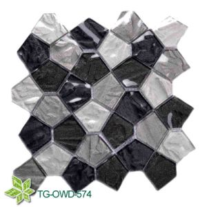 Glass Mosaic for Bathroom Wall (TG-OWD-574) pictures & photos