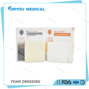 Foryou Medical Diabetes Sterile PU Foam Dressing FDA Diabetic Ulcer Treatment Sterile Chronic Wound Dressing pictures & photos