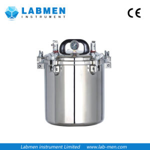 Portable Pressure Steam Sterilizer Electric or LPG Heated pictures & photos