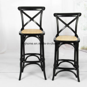 High Quality Wooden X Back Bar Chair (DC-112) pictures & photos