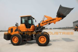 Chinese Construction Machinery 3 Ton Wheel Loader Ensign Yx636 with Joystick pictures & photos
