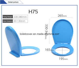 Child and Kids Toilet Seat Slow Down Safety PP Material More Colors Optional pictures & photos