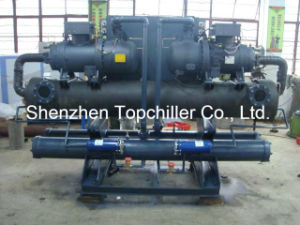 120ton Refrigeration Capacity Water Cooled Chiller in Pharmaceutical pictures & photos