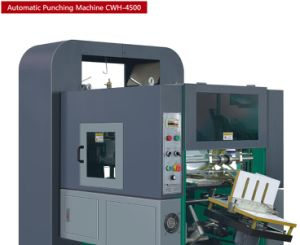Cwh-4500 Paper Automatic Punching Machine for Exercise Book pictures & photos