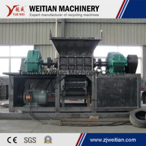 Double/ Single Shaft Shredder Machine for Scrap Metal/Tire/Plastic/Wood/Wooden Shredder pictures & photos